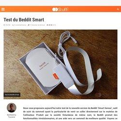 Test du Beddit Smart