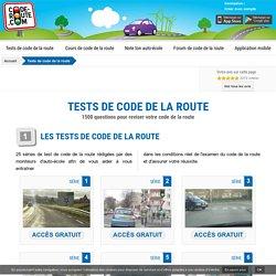 Code de la route gratuit :: Test code de la route gratuit