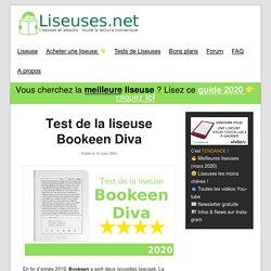 Test de la liseuse Bookeen Diva