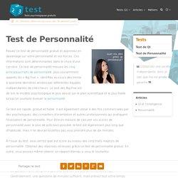 Test de Personnalité - 123test.fr