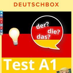 Test: Der, die, das? (A1)