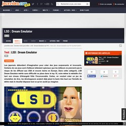 Test du jeu LSD : Dream Emulator sur PS1 - jeuxvideo.com