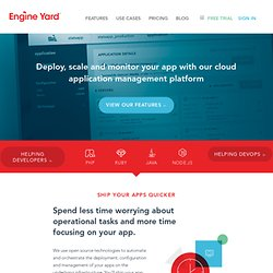Test Drive Your New Application on Engine Yard