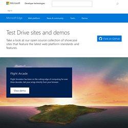 Test Drive : Microsoft Edge Dev