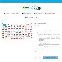 Test IPTV Premium 36H – NEW IPTV