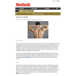 Test your kettle - Men's Health