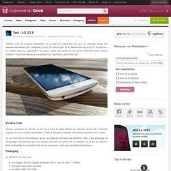 Test : LG G3 S