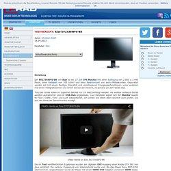 Test Monitor Eizo EV2736WFS-BK