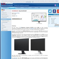 Test Monitor Eizo EV2750-WT