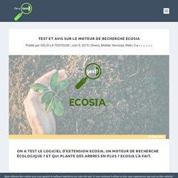 Test et avis sur le moteur de recherche Ecosia - On a test!
