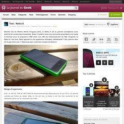 Test : Nokia X