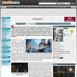 Test de Resident Evil 4 sur Wii