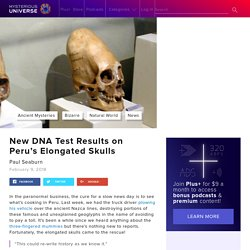 New DNA Test Results on Peru's Elongated Skulls