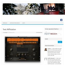 Test: Riffstation › Juergen