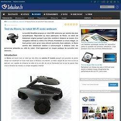 Test du Rovio, le robot Wi-Fi avec webcam