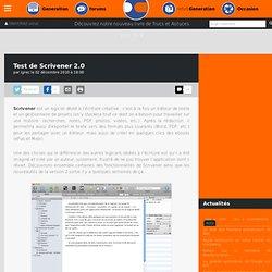 Test de Scrivener 2.0
