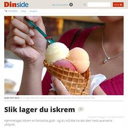 Test: Slik lager du iskrem