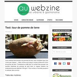 Test: tour de pomme de terre - au webzine