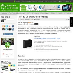 Test du VS240HD de Synology