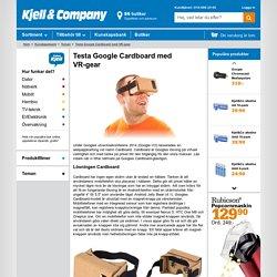 Testa Google Cardboard med VR-gear > Teman