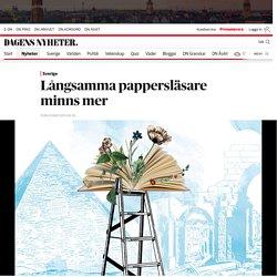 Långsamma pappersläsare minns mer