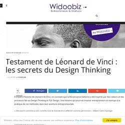 Testament de Léonard de Vinci : les secrets du Design Thinking