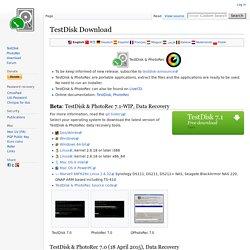 TestDisk Download