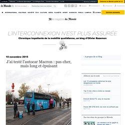 J'ai testé l'autocar Macron : pas cher, mais long et épuisant