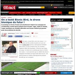 On a testé Bionic Bird, le drone bionique du futur !