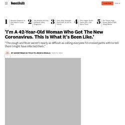 'I Tested Positive For Novel Coronavirus. Here's What It's Like'