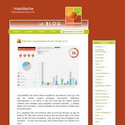 Tester l'accessibilité de votre site