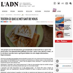 Tester ce que le Net sait de vous - MEDIA MEDIUM