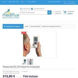 Testeur de CO, CO Check+®, 4 mesures - MEDIFLUX