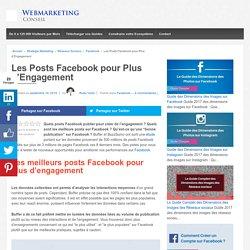 ▶ Testez ces 6 Posts Facebook pour +200% d'Engagement