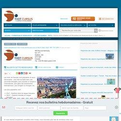 Testez gratuitement votre niveau de français pour le DELF, DALF, DILF, TEF, TCF, DFP