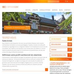 Testez-vous | Hertoghe Clinic