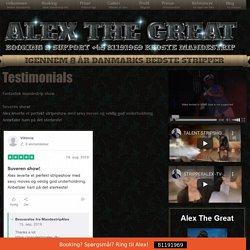 Testimonials Archive - Alex The Great