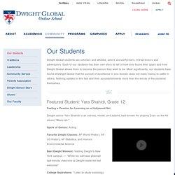 Dwight Global High School Diploma Programs & Classes