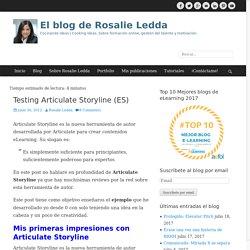 Testing Articulate Storyline (ES) - El blog de Rosalie Ledda
