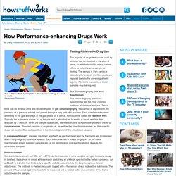 Testing Athletes for Drug Use