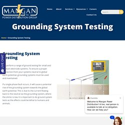 Ground Impedance Testing Services