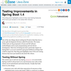 Testing Improvements in Spring Boot 1.4