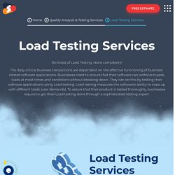 Top-notch Load Testing Services At Shiv Technolabs