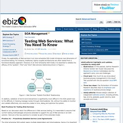 Testing Web Services: What You Need To Know- Page 2