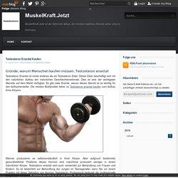 Testosteron Enantat Kaufen - MuskelKraft.Jetzt