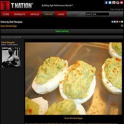 Guac-Deviled Eggs