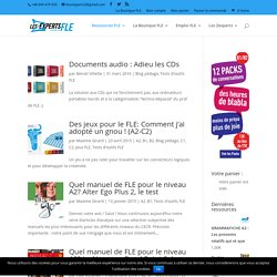 Tests d'outils FLE