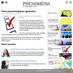 Tests psychologiques (gratuits)