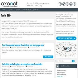 Tests SEO
