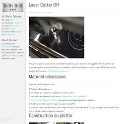 Laser Cutter DIY - Tetalab